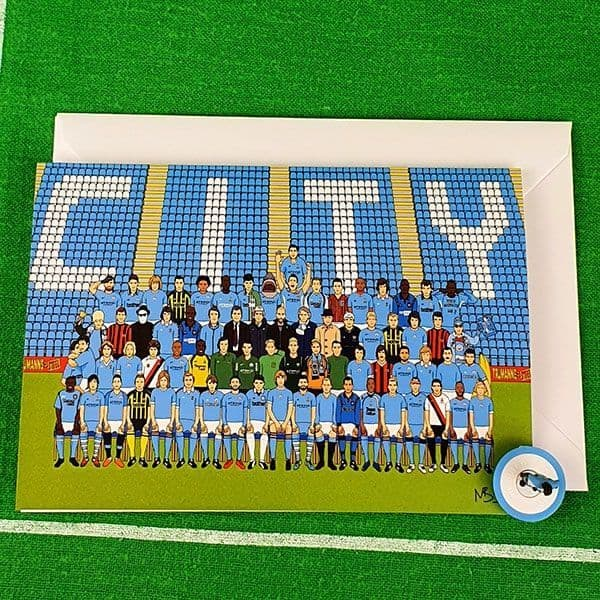 The Ultimate City Team Greetings Card